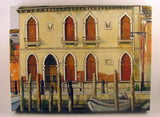 Oil on Canvas Ancient Venetian Palace Image