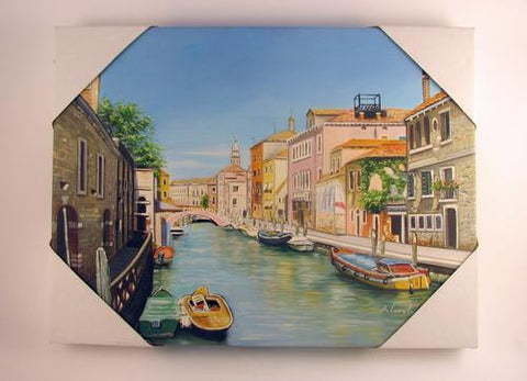 Oil on Canvas Canale di Venezia Image