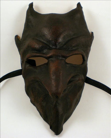 Leather Devil Demon Mask Image