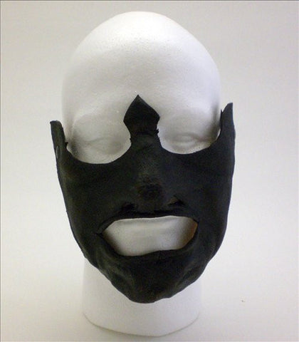 Leather Mempo of War Mask Image