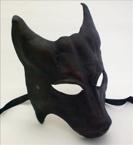 Leather Wolf Mask Image