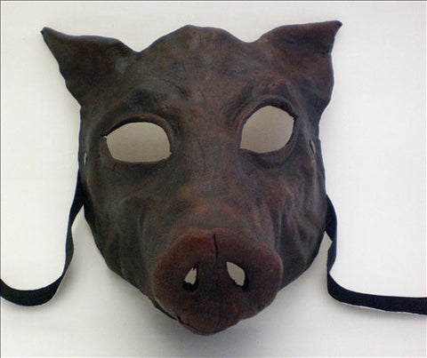 Leather Pig Mask Image