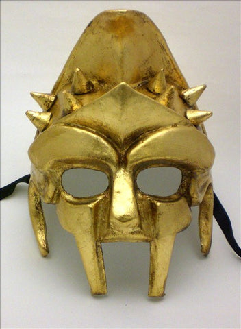 Gladiator Mask Gold Image