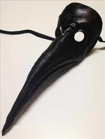 Leather Plague Doctor Mask Image