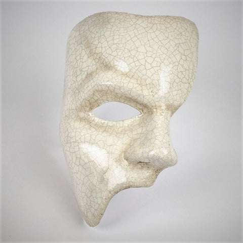 Phantom of the Opera Nuovo Classic White Crackle Image
