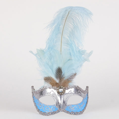 Feathered Colombine Sisi Light Blue Silver Image