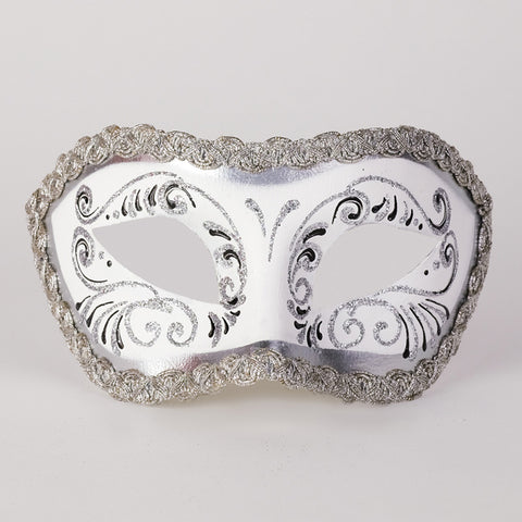 Colombine Decor - White and Silver Image
