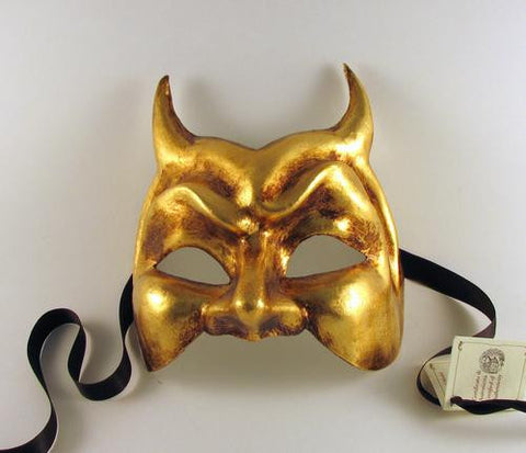 Devil Mask Gold Image