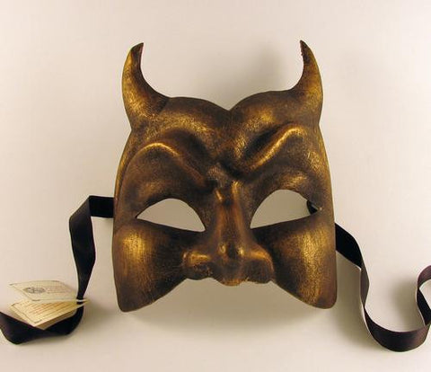 Devil Mask Bronze Image
