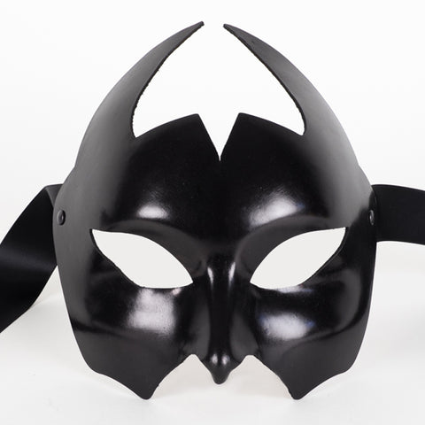 Leather Devil Eye Mask Image