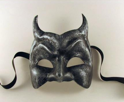 Devil Mask Iron Image