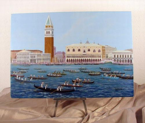 Acrylic on Panel La Regatta Image