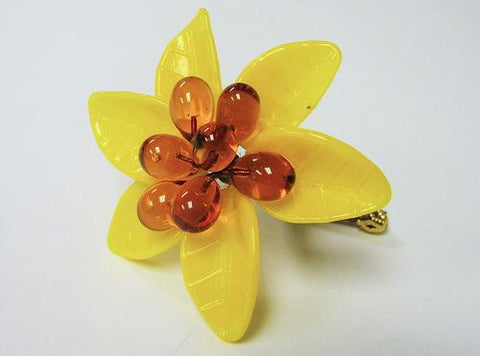 Murano Glass Flowers Petite Sunflower Image