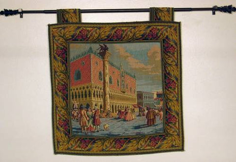 Small Piazzetta San Marco Venetian Tapestry Image