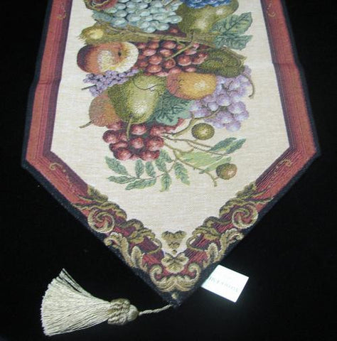 Venetian Table Runner RedFruit 52x12 Image