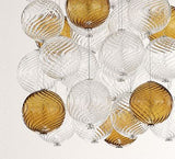 Italian Glass Spheres Ceiling Light Bolle di Vetro Image