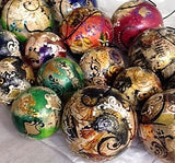 Venetian paper mache Christmas Ornament