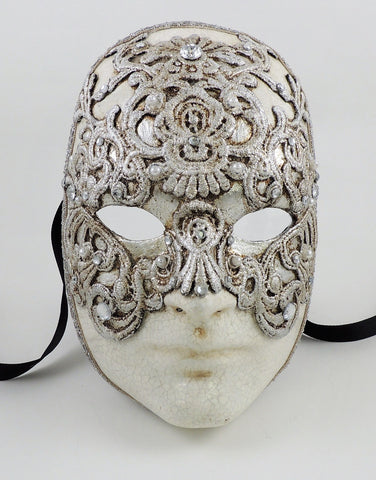 Volto Macrame Silver – Eyes Wide Shut Mask