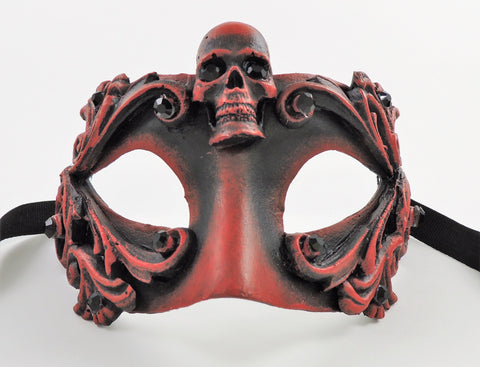 Colombina Skull Mask Red Image