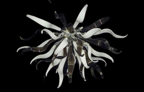 Murano Glass Ceiling Light Dalia Image