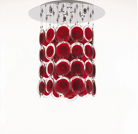 Murano Glass Ceiling Light Dischi Image