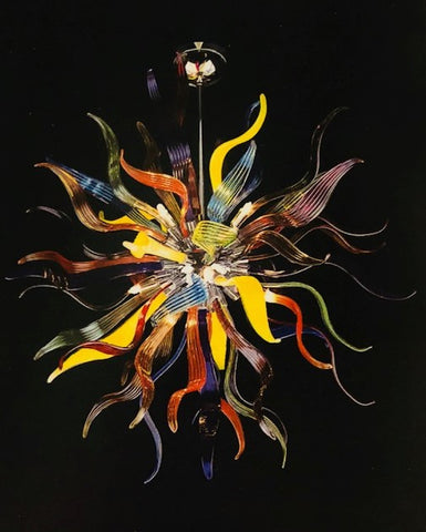 Murano Glass Chandelier Dalia Image