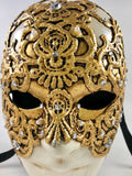 Volto Macrame Gold – Eyes Wide Shut Mask