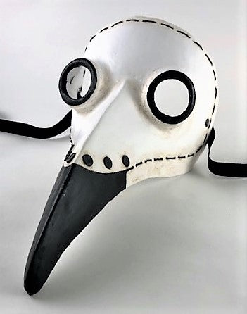 "Plague Doctor Mask Sutura – The Plague Doctor ""Stitches"""