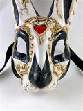 Venetian Dia de los Muertos (Day of the Dead) Rabbit Mask Image