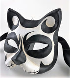 Venetian Cat Mask Skellington Image