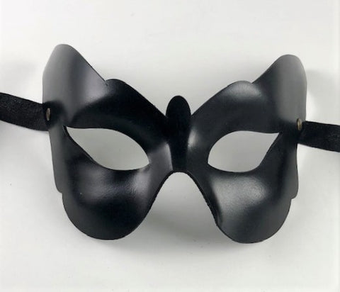 Colombine Leather Butterfly Mask Image
