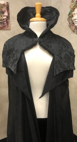 Noble Gothic Cloak Black Image