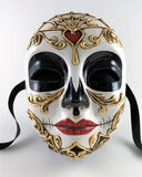 Volto Dia de los Muertos Female Mask – Day of the Dead Image