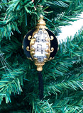 Venetian Christmas Ornament Music Velluto Black Image