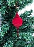 Venetian Christmas Ornament Velluto Red Image