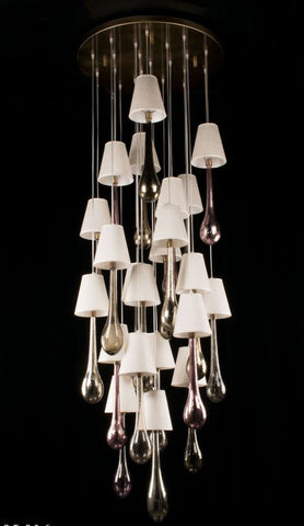 Murano Glass Hanging Soffio Ceiling Light Image