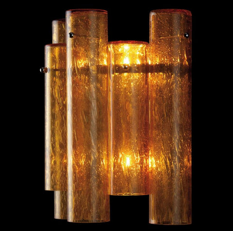 Murano Glass Tube Sconces Pelegoso Glass Image