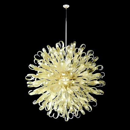 Murano Glass Chandelier Ducale Oro Image