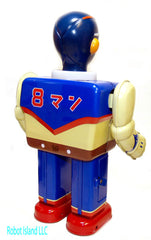 "Super Hero Tin Toy Yonezawa ""8 Man"" Robot a/k/a Eighth Man - Holiday SALE!"