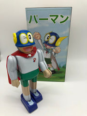 Parman Robot Japan Par Man Character Tin Toy Windup