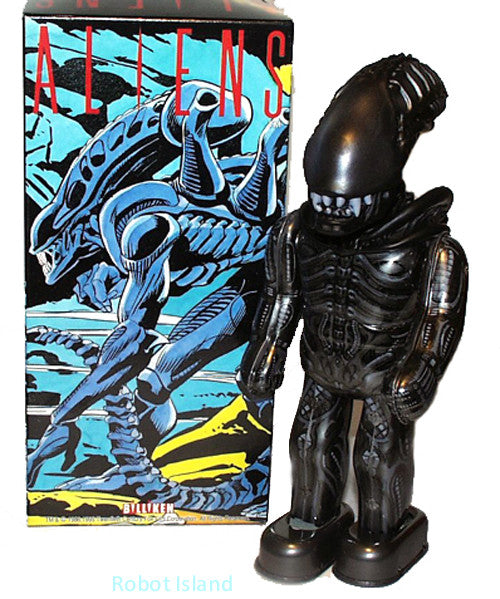 Billiken Alien Robot  Japan Tin Toy Wind up - SALE!