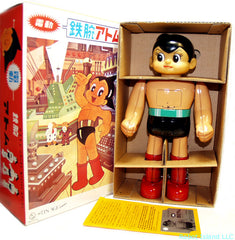 Japan Astro Boy Battery Operated Osaka Tin Toy - SOLD!