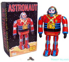 Copy of Astronaut Metal House Robot Tin Toy Windup Japan Osaka Tin Toy