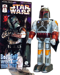 Boba Fett Robot Wind Up Tin Toy Star Wars