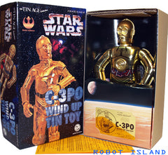 JUST ARRIVED - Osaka Tin Toy Robot C-3PO Japan Windup Star Wars - SALE!