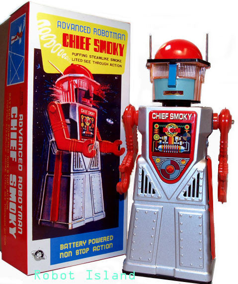 Chief Smoky Robot SILVER Limited Edition Exclusive