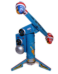 Coney Island Rocket Ride Tin Toy Windup Space Toy - SALE!