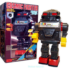 Horikawa Robot Cosmic Fighter Tin Toy