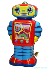 Cosmo Robot Windup Tin Toy Schylling