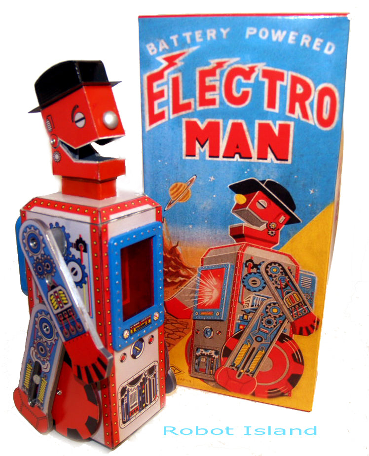 Electroman Robot Limited Edition Battery Operated!